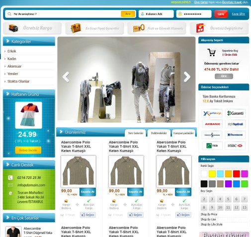 E-Commerce Web Site