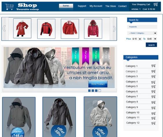 Eshop store