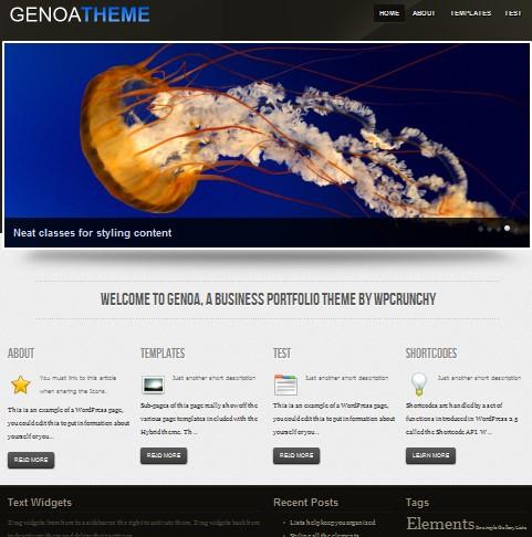 Genoa theme