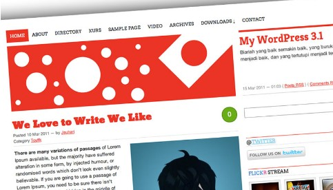 Nippon, is high customized wp theme with Custom Header