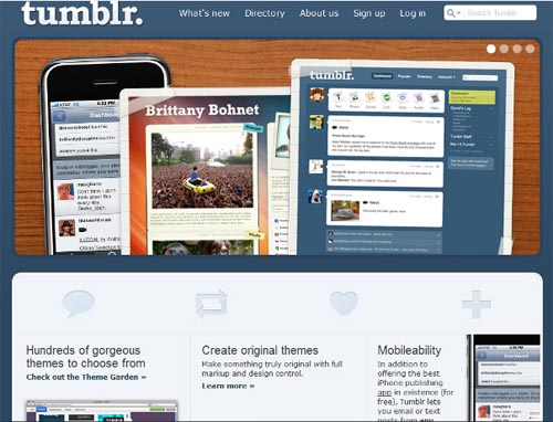 Topnotch Microblogging with Tumblr