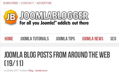 JoomlaBlogger