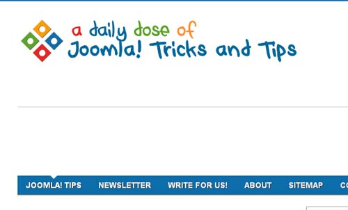 A daily dose of joomla tricks and tips