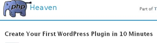 Create Your First WordPress Plugin in 10 Minutes
