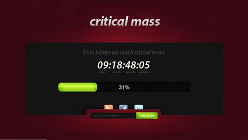 """""""Critical Mass"""""""