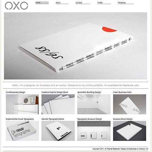Oxo - designer theme