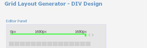 Grid Layout Generator - DIV Design