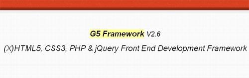 G5 Framework