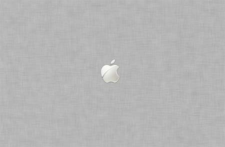 Apple Crosshatch - White