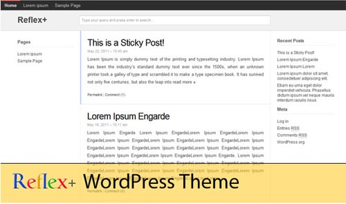 Google Plus WordPress Theme