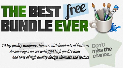 10 HQ WP themes + 750! HQ icons