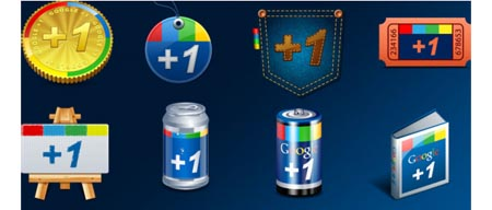 12 Cool And Free Google+ Icon Sets