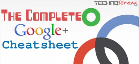 The Complete Google Plus Cheat Sheet