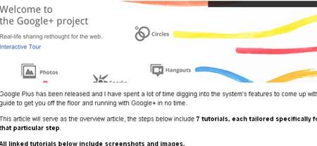 Complete Google+ Setup Guide – 7 Google Plus Tutorials