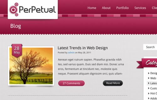 Ultimate Collection of FREE PSD Website Templates 2011