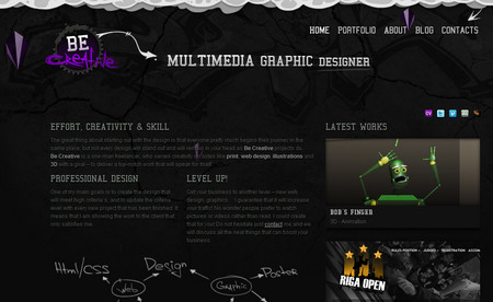Multimedia Graphic Designer