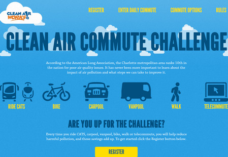 Clean Air Commute Challenge