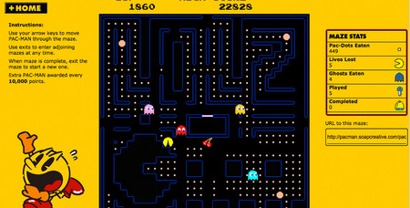 World`s biggest pac-man