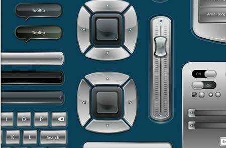 3 vector GUI design sets (95+ UI elements)