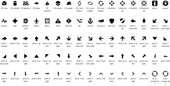 140+ High-Quality Social and Glyph Icon Sets 2011