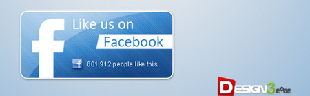 Modern Facebook Like Button Pack