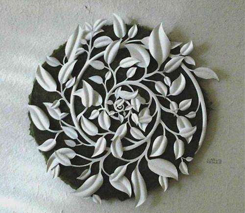 Spiral White Sheets