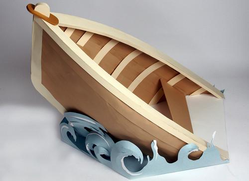 Large Paper Boat, Hermés