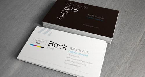 Business Card Mock-Up Vol 2