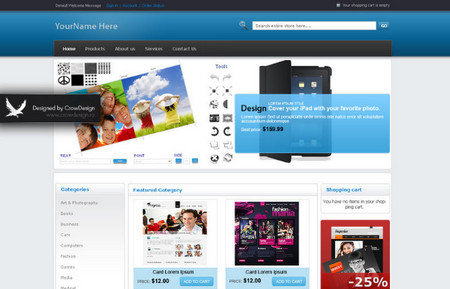 E-Shop Magento Theme