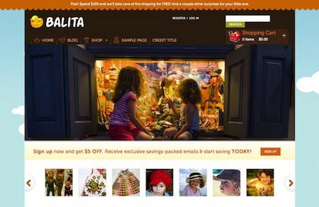 E-Commerce WordPress Theme: Balita