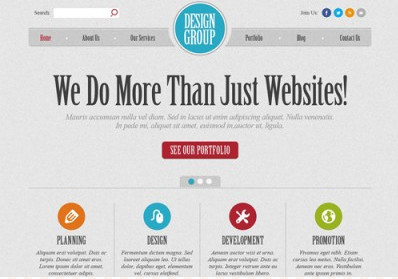 Design Group WordPress Theme