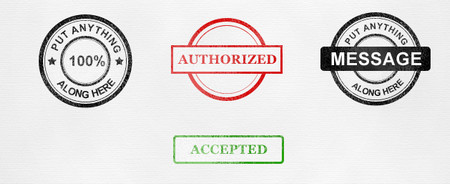 Ink stamp collection