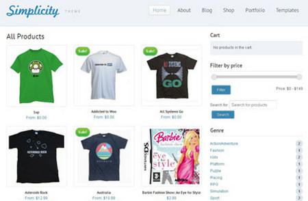 Simplicity Commerce Online Store