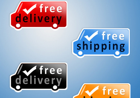 Modern Shipping Icon Set