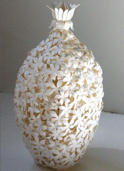 Flower Paper Sculpture