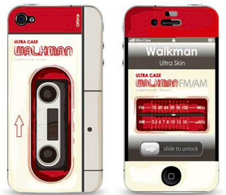 UltraSkin Walkman