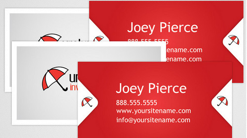 Umbrella Business Card