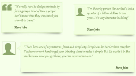 Simple Quotes Boxes