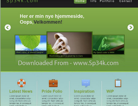 Enviromental - Free PSD