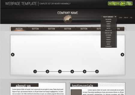 Webpage Template