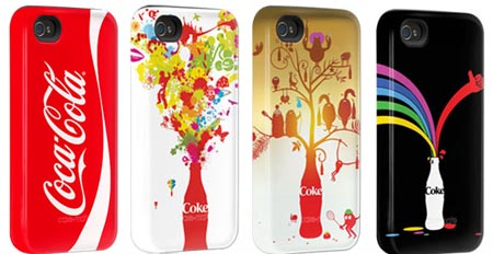 exclusive collection of Coca-Cola cases