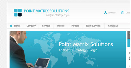 Pointmatrix – Business Website