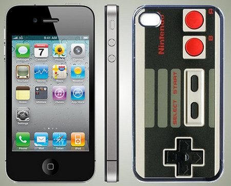 Retro NES Game Controller Style