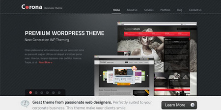 Corona Premium Business Theme