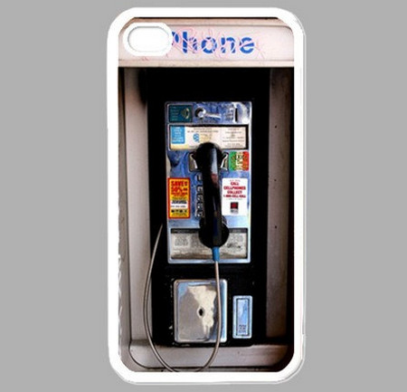 Public Payphone iPhone 4 Hard Case