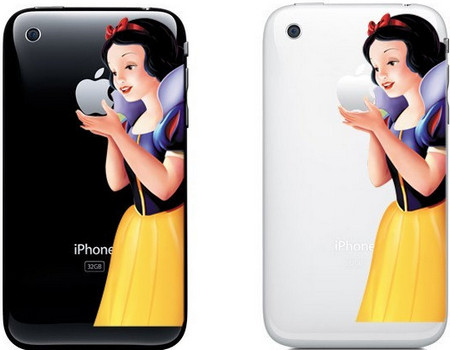 SnowWhite on iPhone