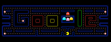 PAC-MAN's 30th Anniversary Doodle