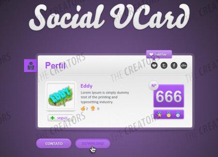 Social VCard