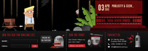 Red Tiki - Web, Animation, Multimedia Services
