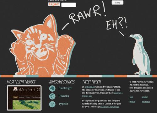 Found Colour - Graphic and Web Design Portfolio of Patrick Kavanagh
